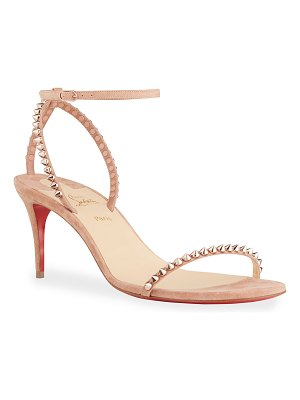 Christian Louboutin So Me Spike Ankle-Strap Sandals