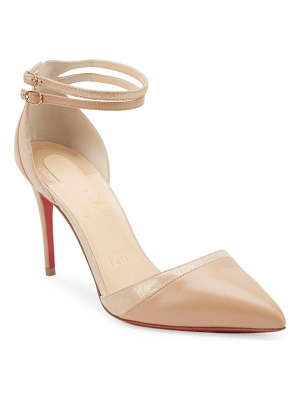 Christian Louboutin uptown 85 leather pumps