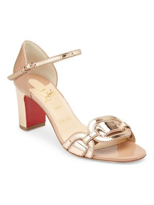 Christian Louboutin valparaisa 70 patent leather sandals