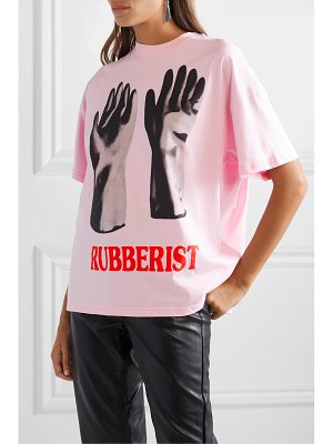 Christopher Kane printed cotton-jersey t-shirt