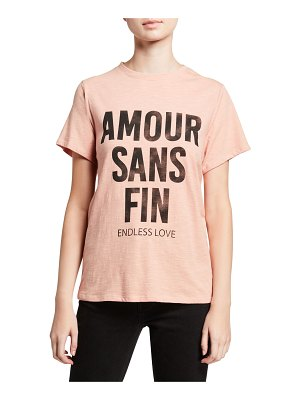 Cinq A Sept Endless Love Graphic Tee