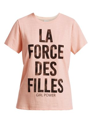 Cinq à Sept girl power graphic tee