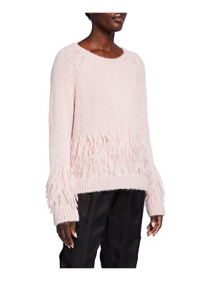 Cinq A Sept Izabella Fringe Sweater