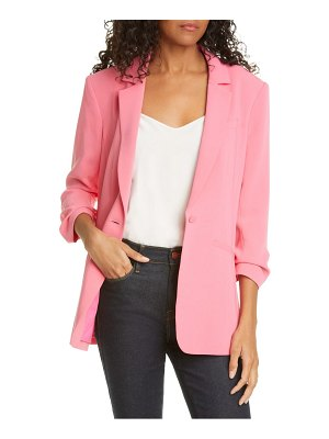 Cinq A Sept khloe ruched sleeve blazer