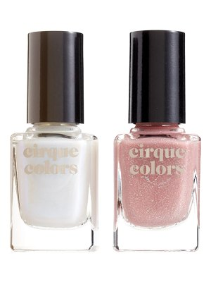 Cirque Colors gemstone duo nail polish