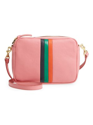 Clare V. midi sac leather crossbody bag