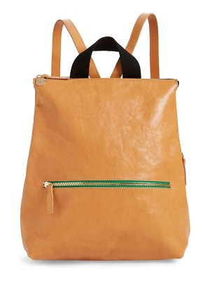 Clare V. remi leather backpack