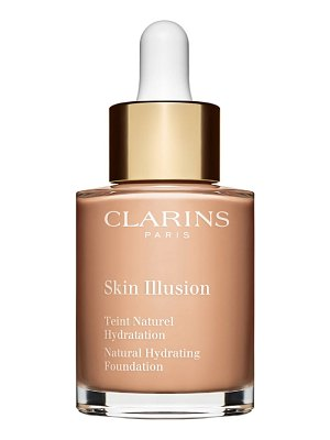 Clarins skin illusion natural hydrating foundation