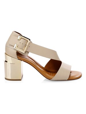 Clergerie abstract asymmetrical sandals