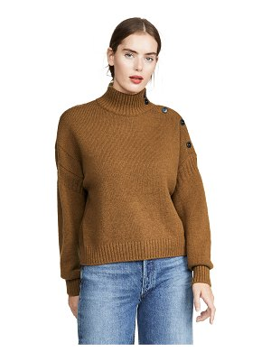 CLOSED button detail turtleneck sweater