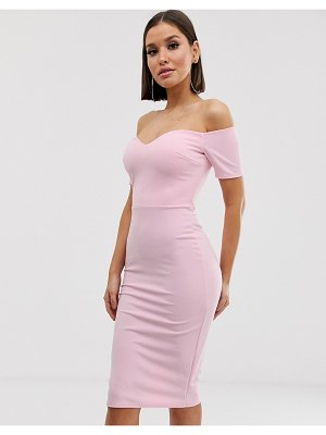 Club L London bardot midi dress