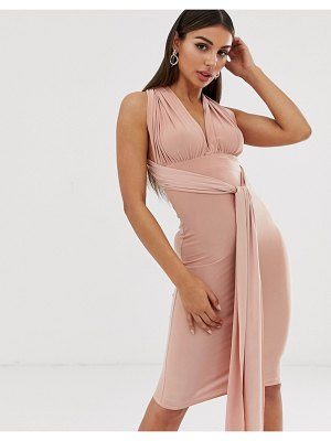 Club L London multi way midi dress