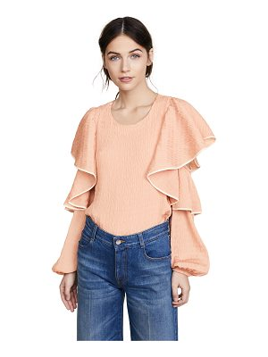 Club Monaco ribbone top