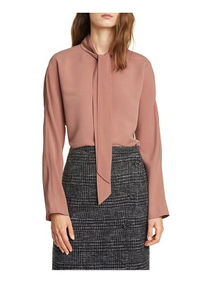 Club Monaco tie neck top