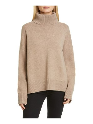 Co. bell sleeve wool & cashmere sweater