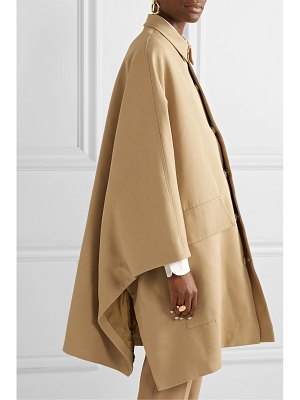 Co. cotton and wool-blend gabardine coat
