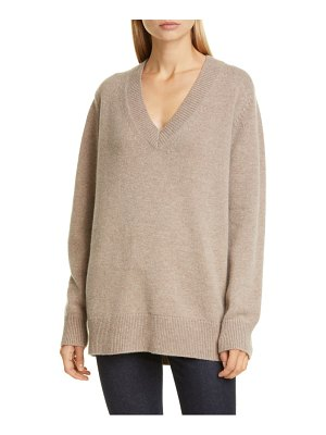 Co. essentials wool & cashmere boyfriend sweater