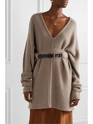 Co. oversized belted cashmere sweater