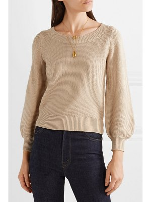 Co. silk and cotton-blend sweater