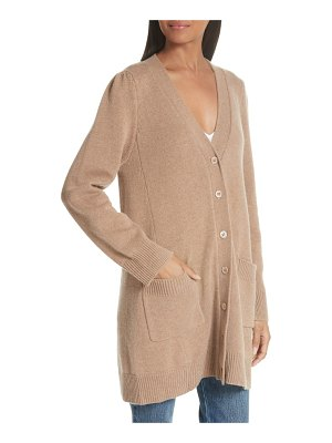 Co. essentials wool & cashmere boyfriend cardigan