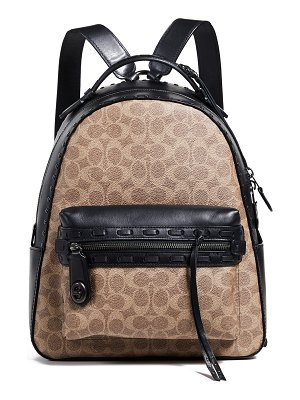 Saint Laurent Toy Canvas & Leather Ikat Strap City ...