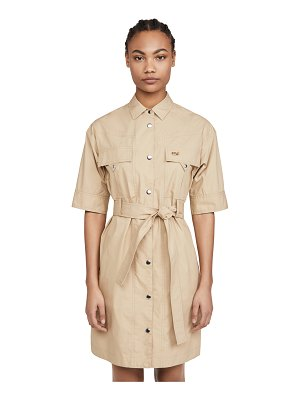 COACH 1941 short sleeve safari shirtdress