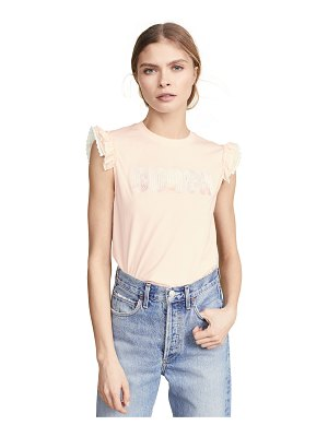 COACH 1941 sleeveless embroidered t-shirt