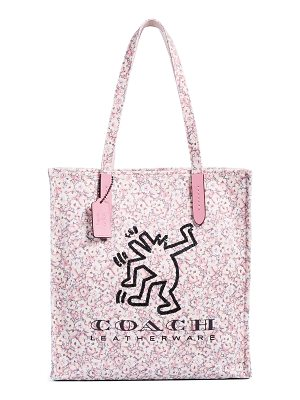 COACH 1941 x keith haring dancing man tote