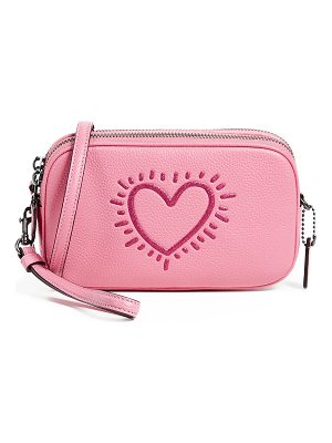 COACH 1941 X Keith Haring Glitter Cross Body Clutch
