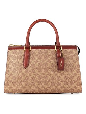 COACH Bond Signature Canvas Tote Bag