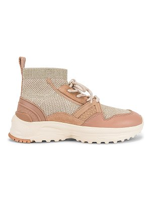 COACH c245 high top runner sneaker