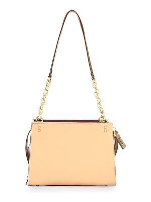 COACH Classic Leather Shoulder Bag