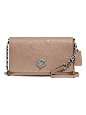 COACH crosstown x leather crossbody bag