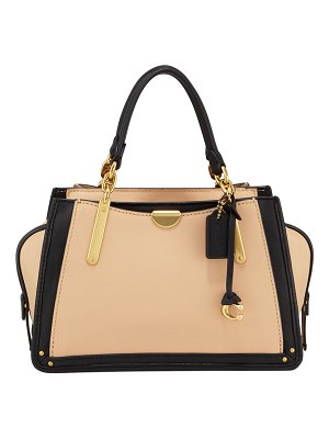 COACH Dreamer 21 Colorblock Satchel Bag