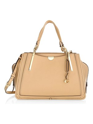 COACH dreamer leather top handle bag