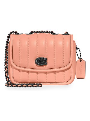 COACH Madison Quilted Leather Chain Shoulder Bag
