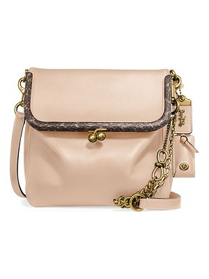 COACH Rider 24 Exotic Crossbody Bag