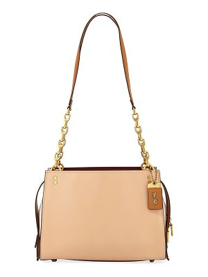 COACH Rogue Colorblock Shoulder Bag