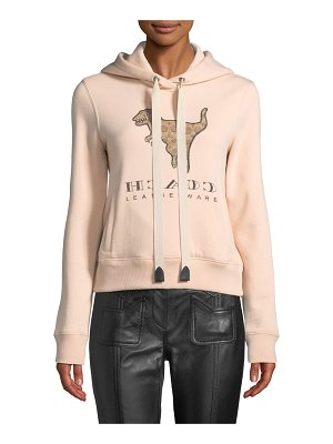 COACH Signature Rexy Logo Hooded Sweatshirt