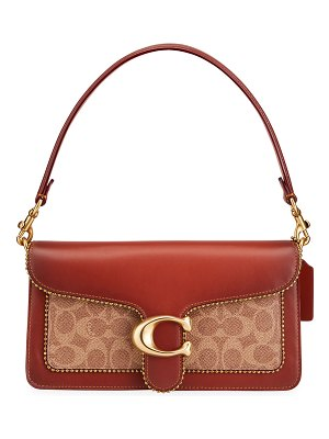 COACH Tabby Logo Shoulder Bag