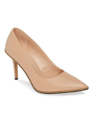 COACH waverly pointed toe pump