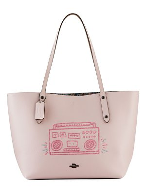 COACH x Keith Haring Boom Box Market Tote Bag