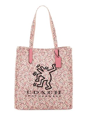 COACH X Keith Haring Dancing Man Tote Bag