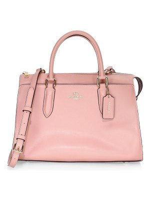 COACH x selena gomez sutton leather satchel