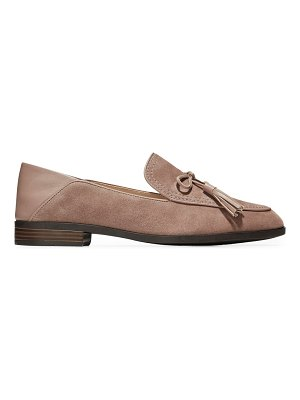 Cole Haan pinch tassel suede loafers