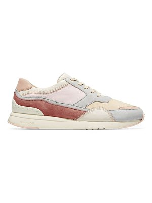 Cole Haan premium grandpro layered leather trainers