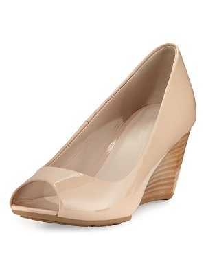 Cole Haan Sadie Grand Patent Leather Wedge Pump