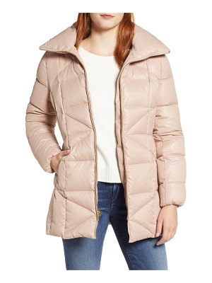 COLE HAAN SIGNATURE sateen down jacket