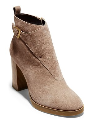 Cole Haan suede harrington grand riding bootie