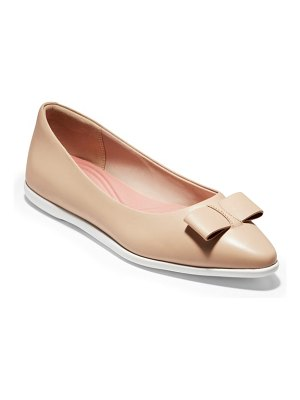 Cole Haan zerogrand bow skimmer flat